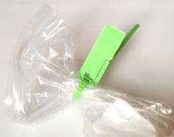 Clinical waste bag security seal