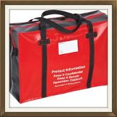 Re-useable medical security bags an holdalls